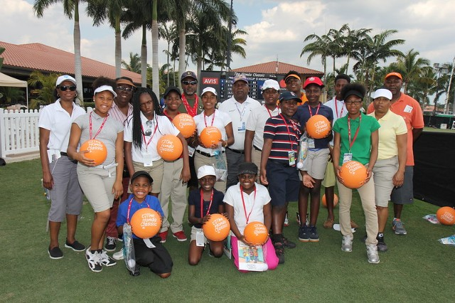 ICYG Youth attend the Honda Classic